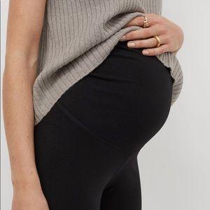 H&M MAMA black leggings size M